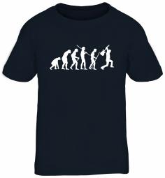 Shirtstreet24 Kinder T-Shirt EVOLUTION HEAVY METAL