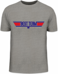 Herrenshirt JGA 42 - Top Gun BEST TEAM Kombi