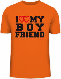 Herrenshirt I LOVE MY BOYFRIEND 4