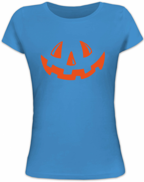 halloween k rbis gesicht damen t shirt shirtstreet. Black Bedroom Furniture Sets. Home Design Ideas