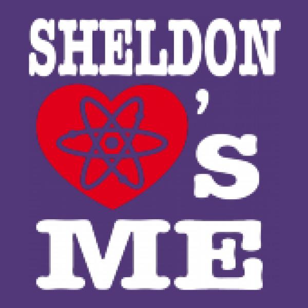 Lady Shirt SHELDON LOVES ME