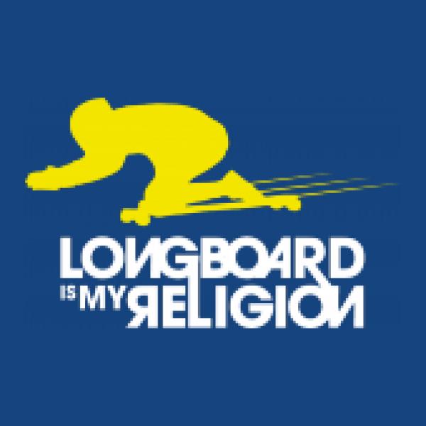 Shirtstreet24 Kinder T-Shirt Longboard Is My Religion