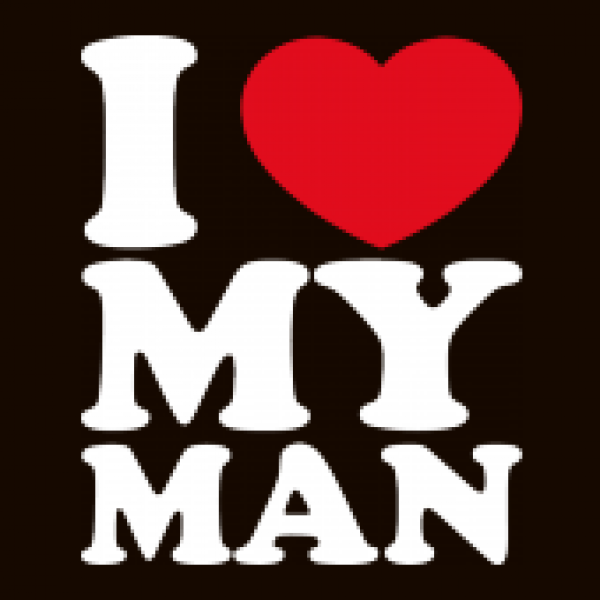 Shirtstreet24 Lady / Girlie Longsleeve Langarm T-Shirt I LOVE MY MAN