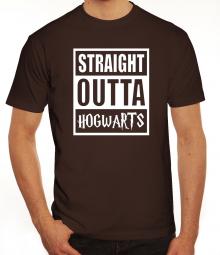 Herrenshirt Straight Outta Hogwarts