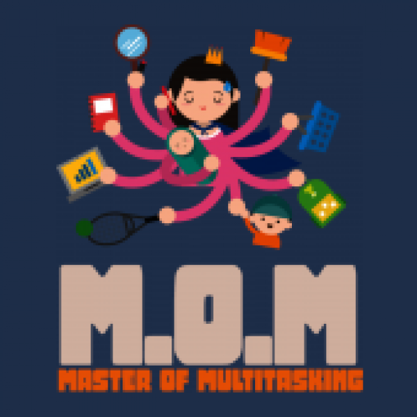 Herrenshirt Mom - Master Of Multitasking