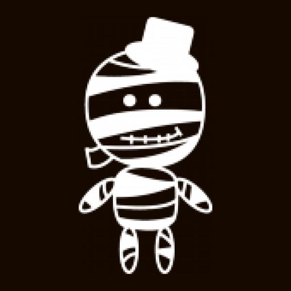 Shirtstreet24 Kinder T-Shirt Halloween - Mumienboy