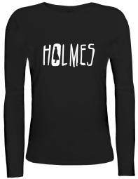 Shirtstreet24 Lady / Girlie Longsleeve Langarm T-Shirt HOLMES