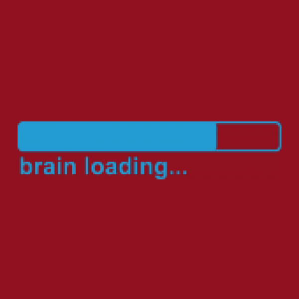 Herrenshirt BRAIN LOADING...