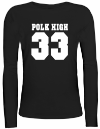 Shirtstreet24 Lady / Girlie Longsleeve Langarm T-Shirt POLK HIGH 33