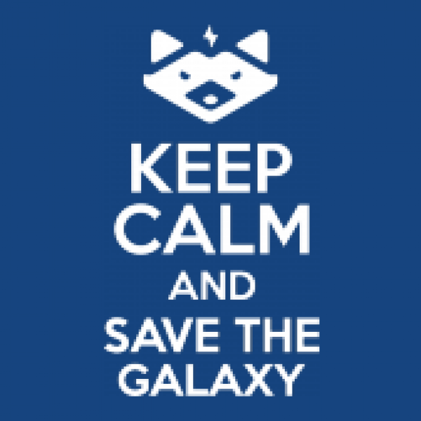 Shirtstreet24 Kinder T-Shirt Keep Calm And Save The Galaxy