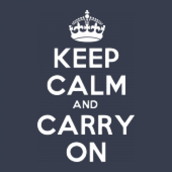 Jutebeutel Earth Positive Keep Calm and Carry On