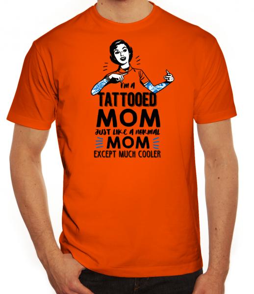 Herrenshirt Tattooed Mom