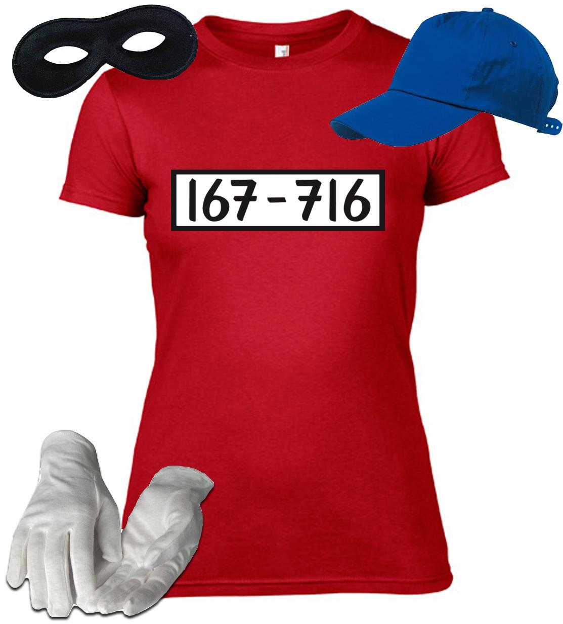 panzerknacker panzerknacker lady shirt kost m set. Black Bedroom Furniture Sets. Home Design Ideas