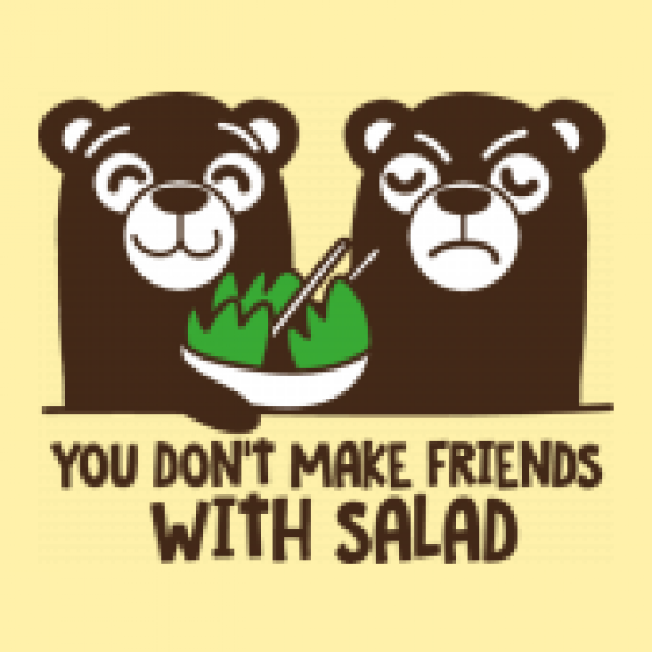 Seesack You Don`t Make Friends With Salad