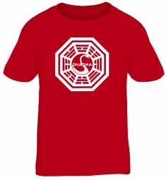 Shirtstreet24 Kinder T-Shirt DHARMA INITIATIVE