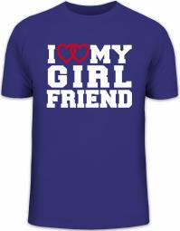 Herrenshirt I LOVE MY GIRLFRIEND 4
